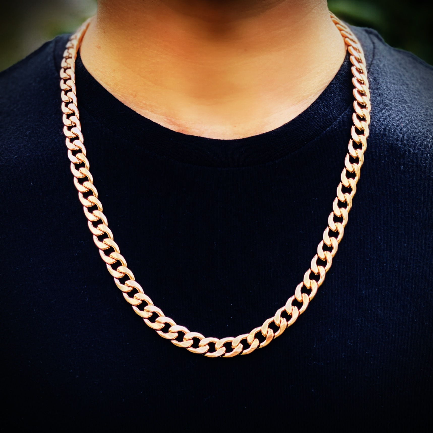 Rose Gold Cuban Necklace