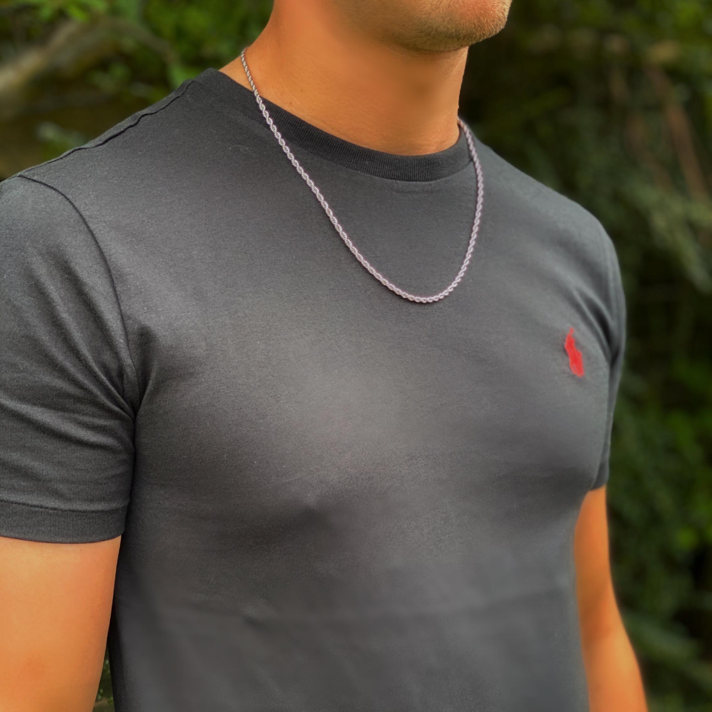 Men's Rope Twist Necklace