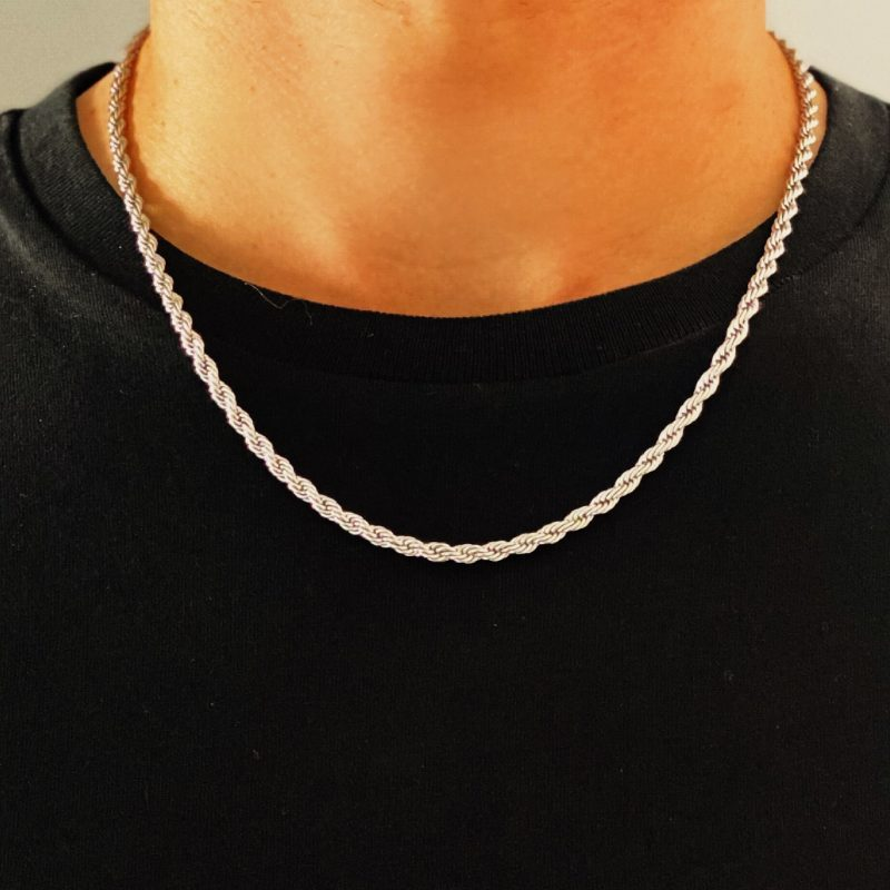 Rope Chain Silver