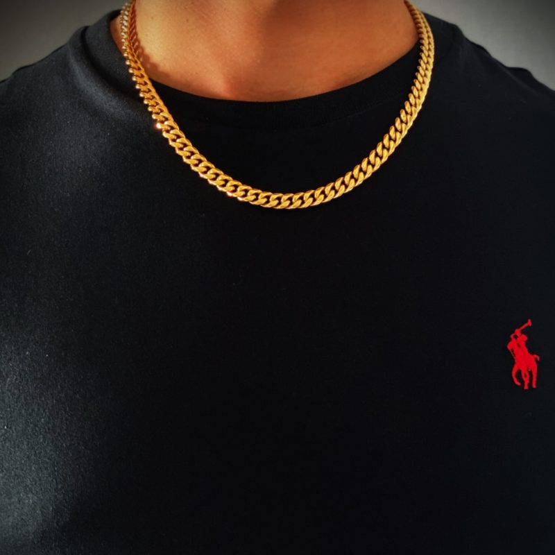 Mens Gold Chain Necklace