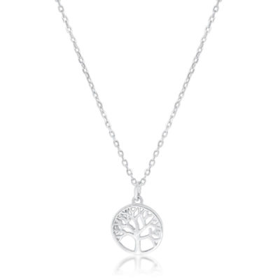 Tree of Life Necklace Silver
