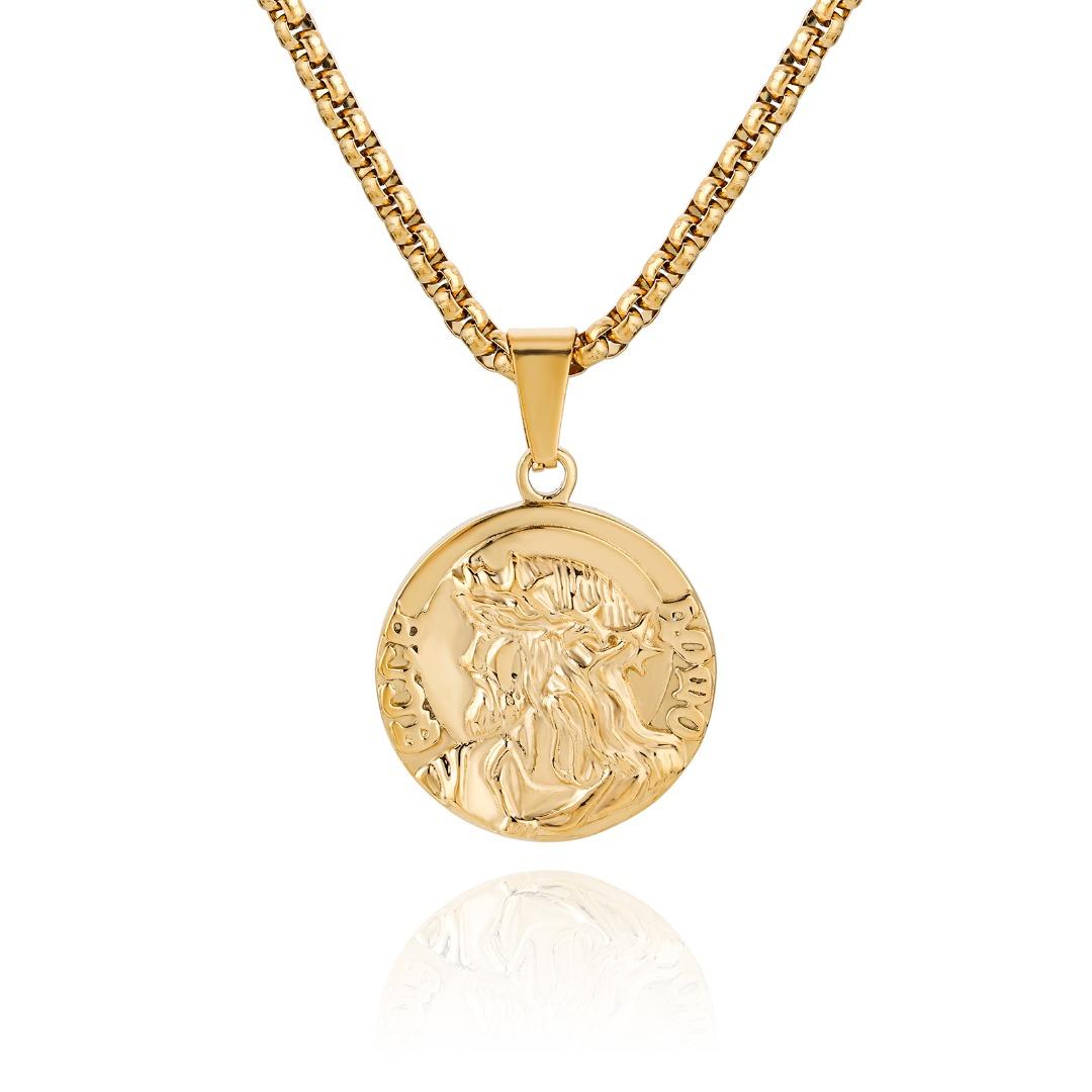 Zeus Necklace Gold