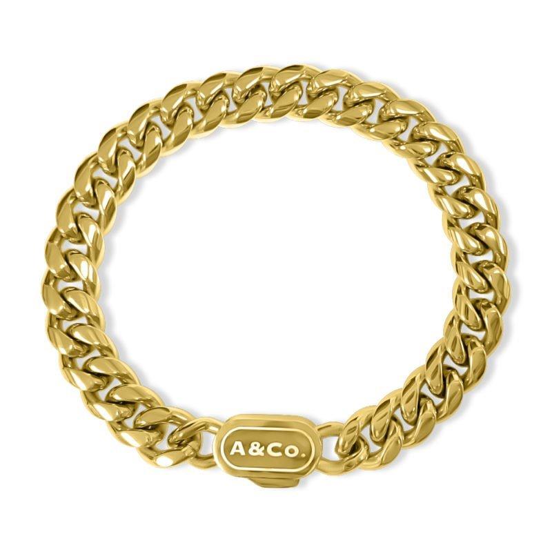 Gold Bracelet Cuban