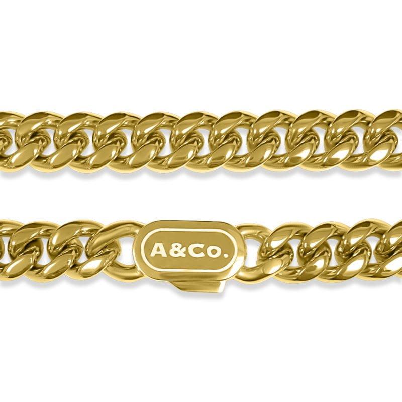 Mens Gold Chain Cuban