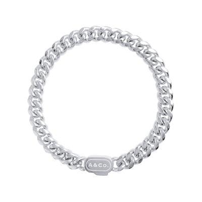 Silver Bracelet Cuban