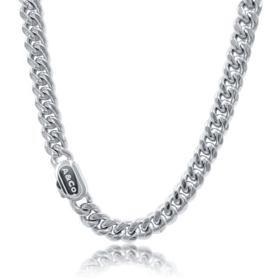 Mens Silver Cuban Chain - Harlem