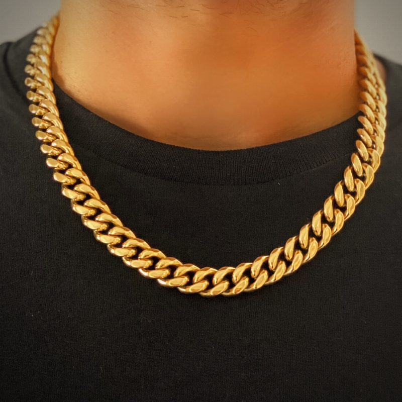 Heavy Gold Necklace Chain