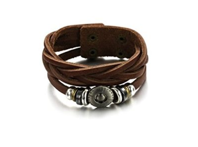 Brown-Leather-Tribal-Bracelet-with-Alfred-Co-Jewellery-Box-B017QJZ3GI