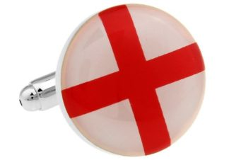 England Flag Cufflinks