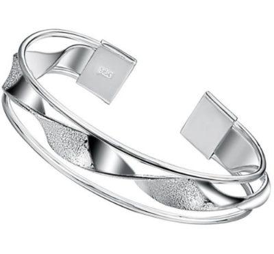 Ladies-Retro-Silver-Cuff-Bangle-Bracelet-12mm-Wide-with-Alfred-Co-Jewellery-Box-B00JDSWNC8
