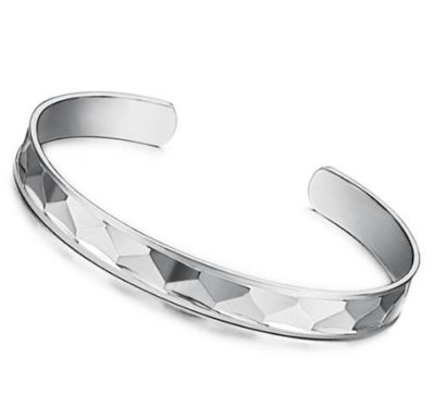 Ladies-Silver-Cuff-Bangle-Bracelet-75mm-Wide-with-Alfred-Co-Jewellery-Box-B00JDSWMCE