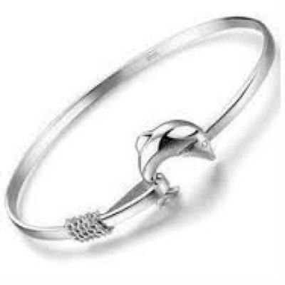 Ladies-Silver-Dolphin-Bangle-with-Alfred-Co-Jewellery-Box-8-inches-Length-B00PPDPN9U