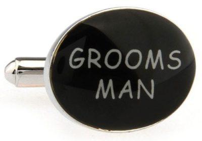 Mens-Black-and-White-Wedding-Day-Grooms-Man-Cufflinks-with-Alfred-Co-Cufflink-Box-B00CV7MN46