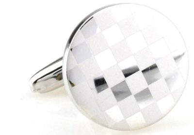 Mens-Elegant-Silver-Chequered-Cufflinks-with-Alfred-Co-Jewellery-Box-B00IC280LE
