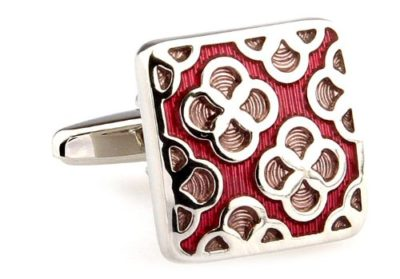 Mens-Luxury-Red-Patterned-Square-Cufflinks-with-Alfred-Co-Cufflink-Box-B00CV7ME5O