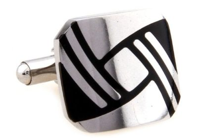 Mens-Luxury-Silver-Black-Classic-Cufflinks-with-Alfred-Co-Jewellery-Box-B00IC29C5W