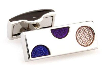 Mens-Luxury-Silver-Purple-Blue-Spots-Cufflinks-with-Alfred-Co-Jewellery-Box-B00IC29OL4