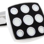Mens-Premium-Square-Black-White-Cufflinks-with-Alfred-Co-Jewellery-Box-B00JOM0BBI