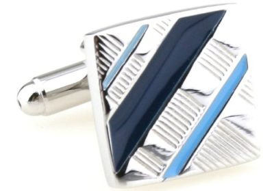 Mens-Silver-Black-Blue-Classic-Cufflinks-with-Alfred-Co-Jewellery-Box-B00EWJDX36