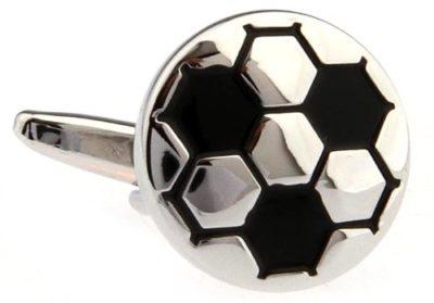 Mens-Silver-Black-Football-Novelty-Cufflinks-with-Alfred-Co-Cufflink-Box-B00EB9EBZ6