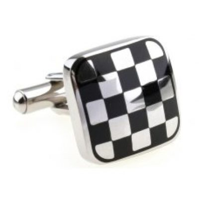 Mens-Silver-Chequered-Racing-Flag-Formula-1-Novelty-Cufflinks-with-Alfred-Co-Cufflink-Box-B00B4EZU9M