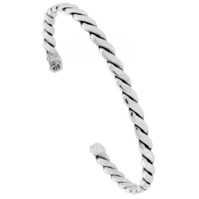 Mens-Silver-Rope-Bangle-with-Alfred-Co-Jewellery-Box-B00U437SYO