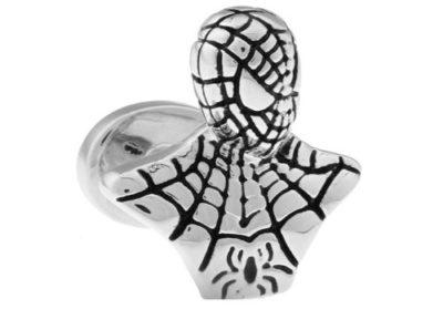 Mens-Silver-Spiderman-Novelty-Cufflinks-with-Alfred-Co-Jewellery-Box-B00FI9D8WU
