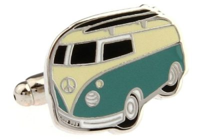 campervan cufflinks
