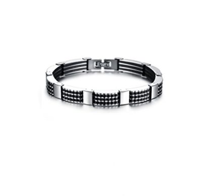 Mens-Stainless-Steel-Bracelet-with-Luxury-Alfred-Co-Jewellery-Box-B014C4CVBK