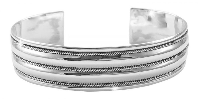 Mens-Sterling-Silver-Bangle-with-Alfred-Co-Jewellery-Box-B018PJPVX8