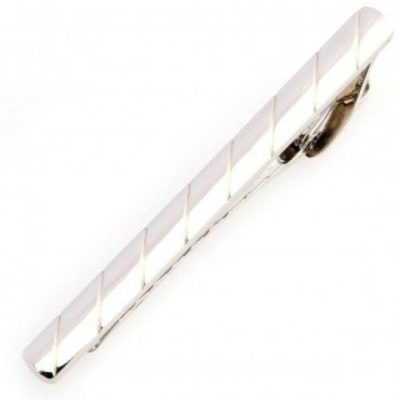 Mens-Stunning-Silver-Engrave-Striped-Tie-Clip-with-Alfred-Co-Jewellery-Box-B00CPRQIMA