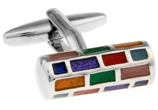 Multi-Coloured Cufflinks