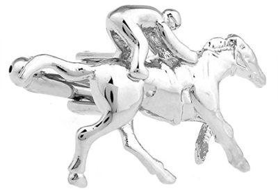 Horse Racing Cufflinks