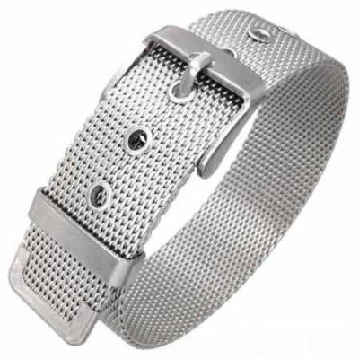 Silver-Stainless-Steel-Mesh-Belt-Buckle-Bracelet-16mm-Wide-with-Alfred-Co-Jewellery-Box-21-cm-827-inch-B00HGIAMT8