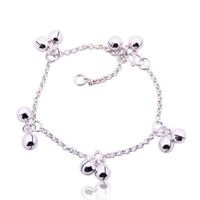 Small-Womens-925-Sterling-Silver-Ladies-Double-Bell-Bracelet-with-Alfred-Co-Jewellery-Box-B00C3Z92M2